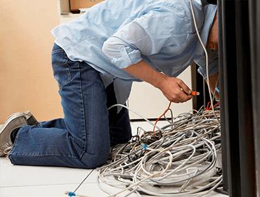 Câblage informatique réparation à domicile autour de Lyon
